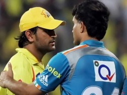 Dhoni and Ganguly