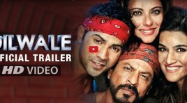 Dilwale Trailer : SRK and Kajol Bringing the DDLJ Love Again